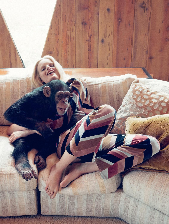 свитшот и бархатные брюки, Sonia Rykiel