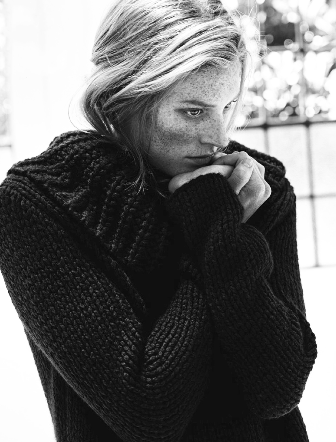 свитер-оверсайз с широким воротом, Аnnette Görtz