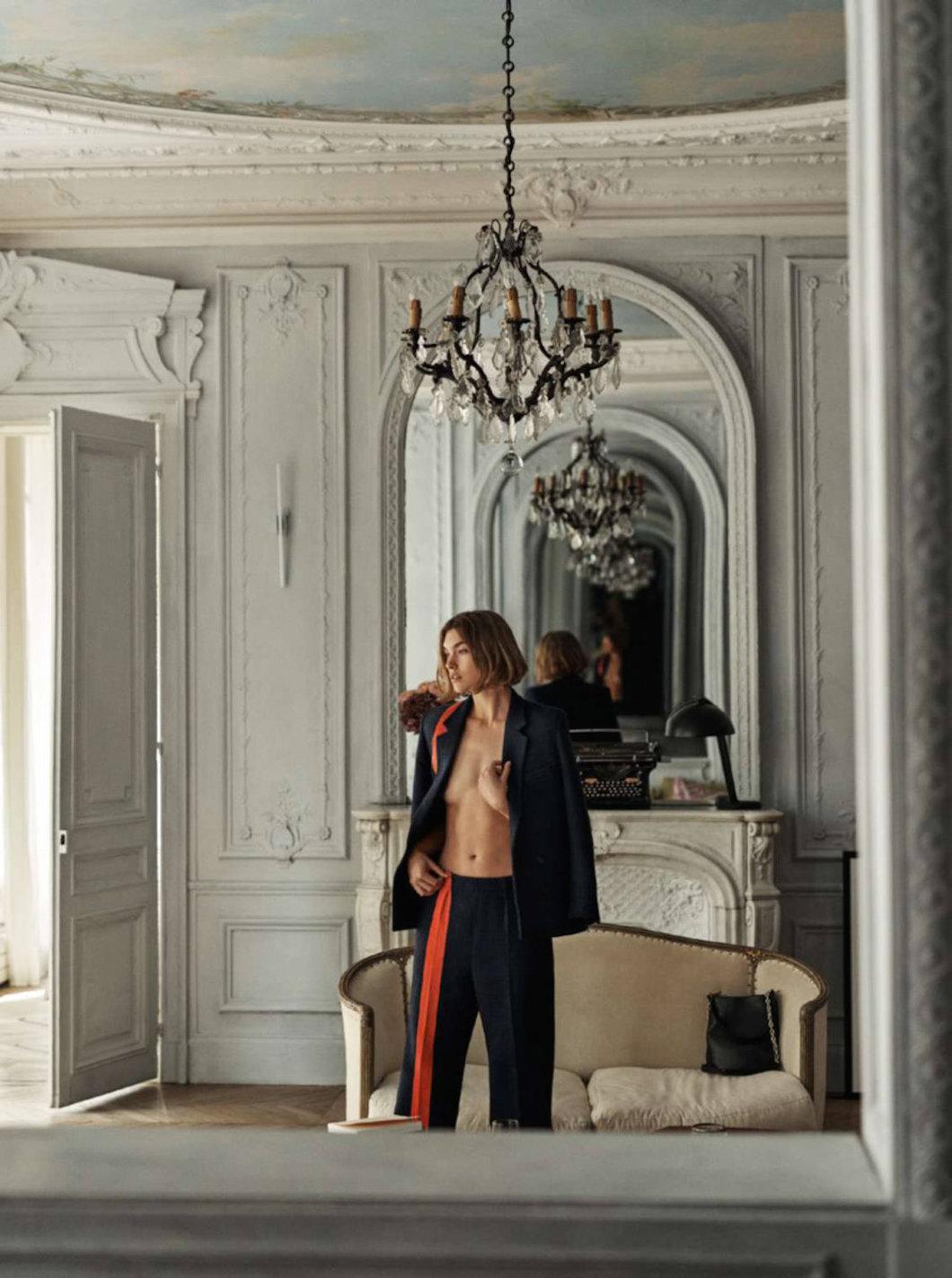 "пиджак и брюки из шерсти, Paul Smith; сумка ""Bianca Hobo"", Tila March"