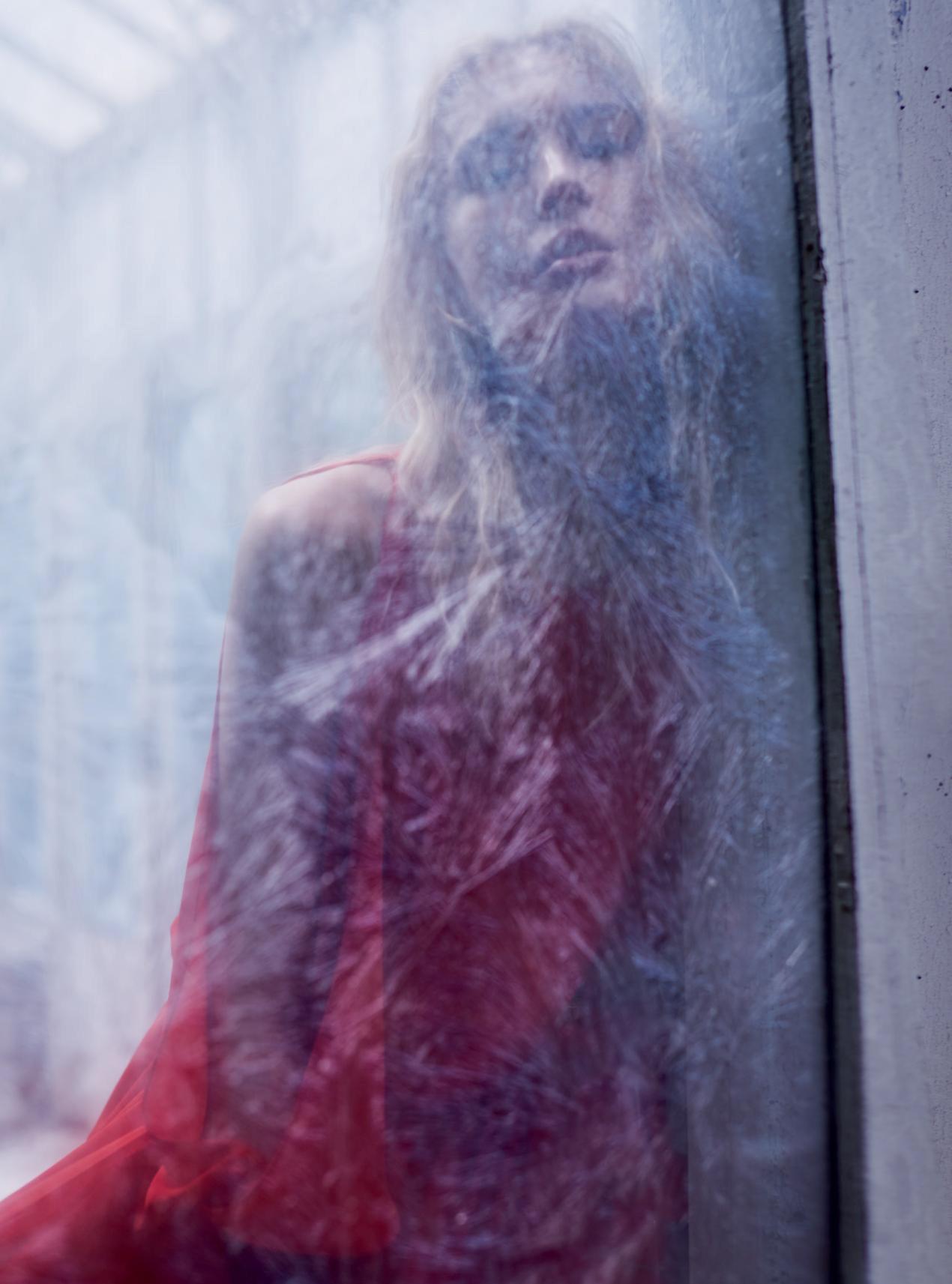 платье из жоржета, Amanda Wakeley