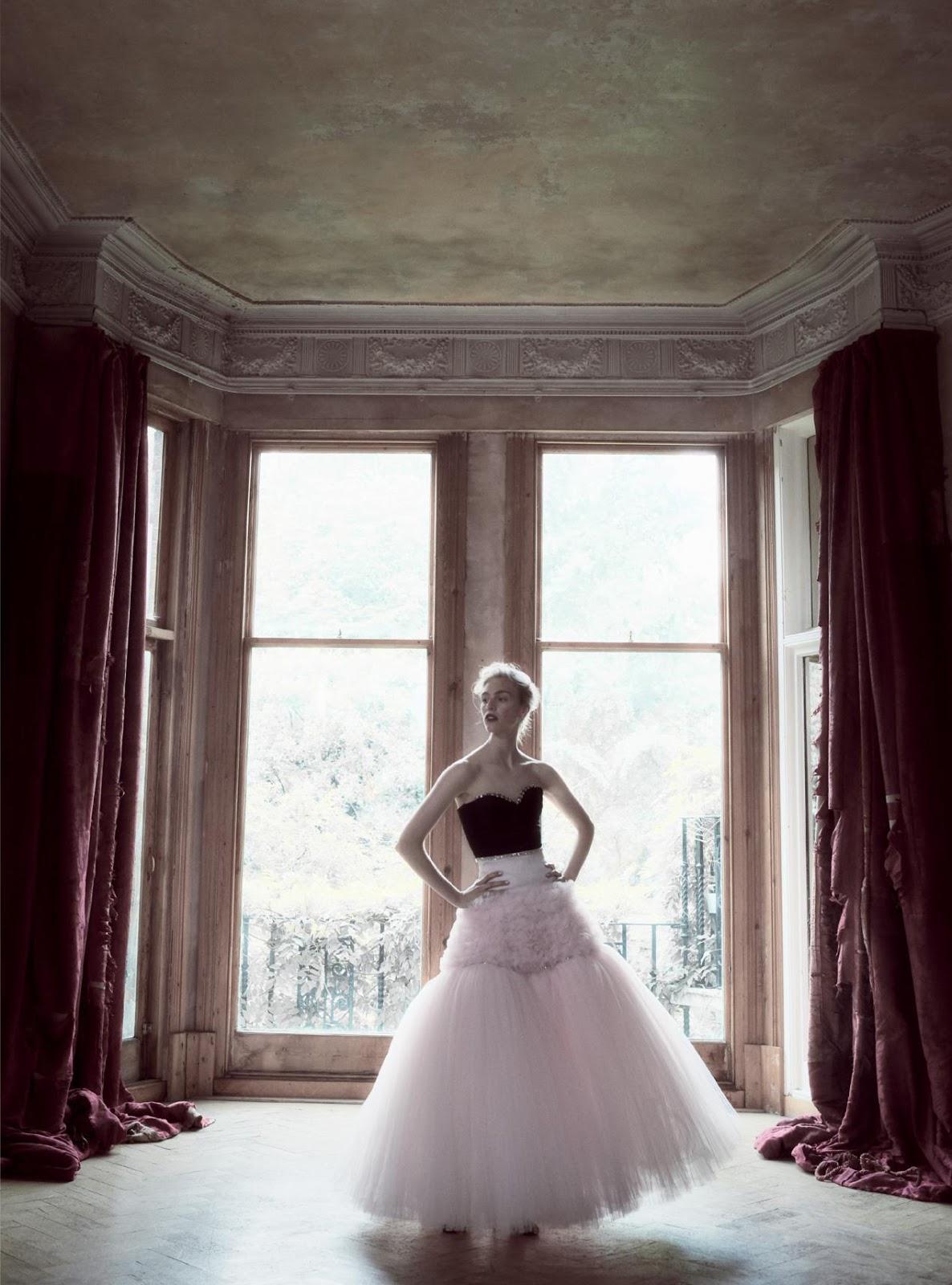 платье из шелкового тюля, бюстье из шелка, Giambattista Valli Haute Couture