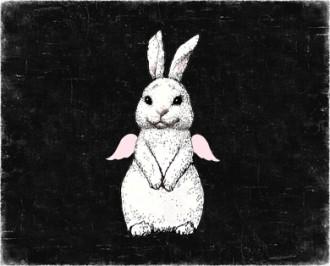 кролик на 300 пикс