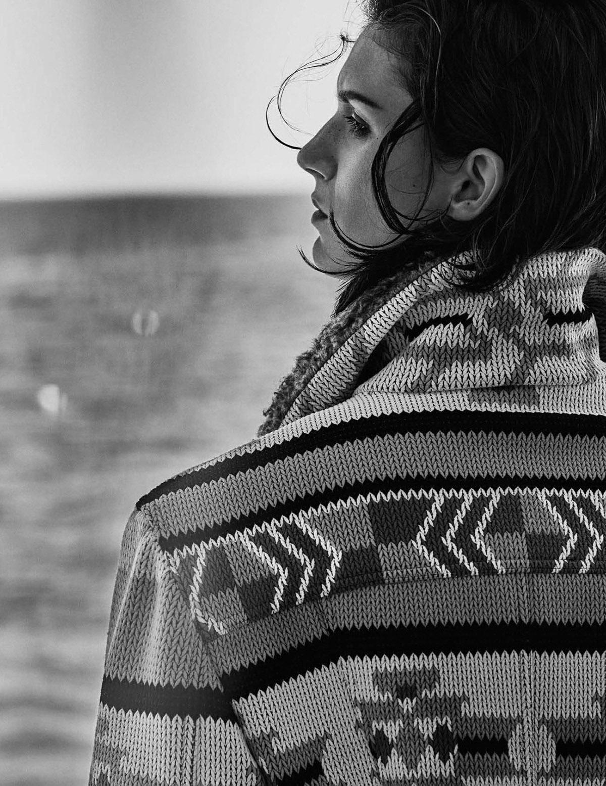 трикотажная куртка с узором в стиле индейцев Навахо, Louis Vuitton