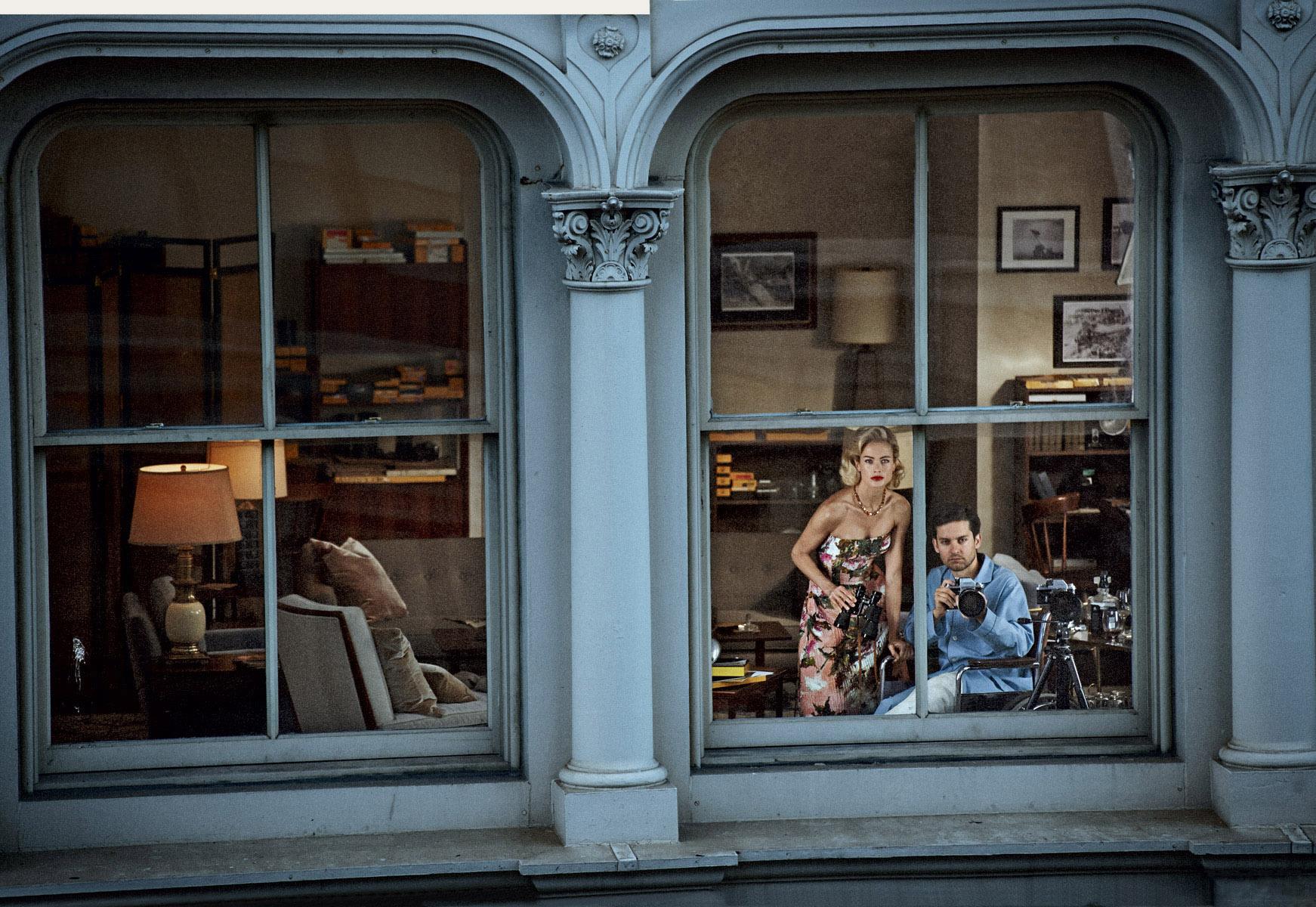 на Мерфи: платье из хлопка, Dolce&Gabbana; ожерелье с цитринами, Fred Leighton; на Тоби: пижама, Brooks Brothers