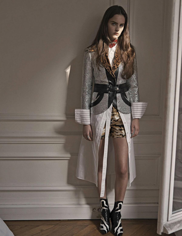 пиджак, рубашка, топ, шорты, ботильоны, Louis Vuitton